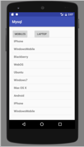 android listview